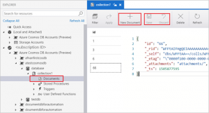 Microsoft Cosmos DB in Azure Storage Explorer – public preview