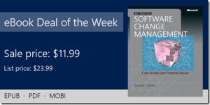 ebook deal of the week: Software Change Management: Case Studies and Practical Advice
