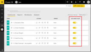 Power BI service October and November feature summary