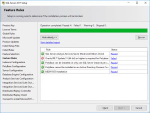 Troubleshooting Failed PolyBase Installation in SQL Server 2017