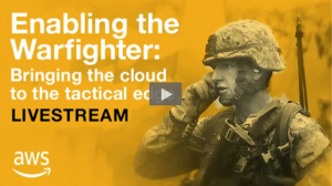 Event Recap – Enabling the Warfighter: Bringing Cloud to the Tactical Edge