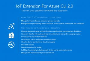 Announcing IoT extension for Azure CLI 2.0