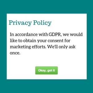 Marketing and the GDPR, Part 2: Examining the consent question