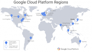 GCP is building its second Japanese region in Osaka