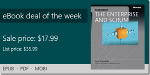 ebook deal of the week: The Enterprise and Scrum