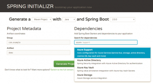 Build Spring Boot 2.0 apps with Azure Starters and new VSCode extensions