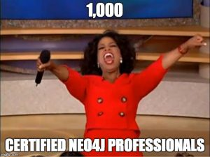 Achievement Unlocked: 1,000 Neo4j Certified Professionals