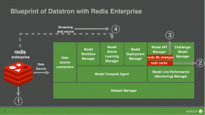 Productionizing Machine Learning with Datatron and Redis