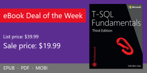 ebook deal of the week: T-SQL Fundamentals, 3rd Edition