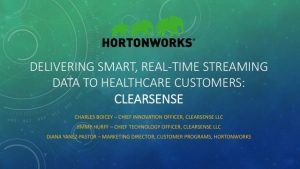 Enabling Mission-Critical Data to Feed Clinical Decisions in Healthcare