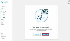 Using Device Jobs for Over-the-Air Updates