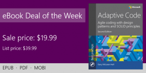 ebook deal of the week: Adaptive Code, 2nd Edition