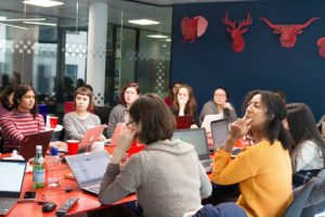 Be a Woman in Data Viz: The Data School Experience