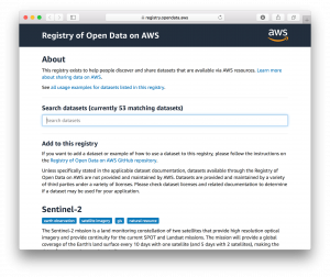Announcing Registry of Open Data on AWS