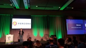 Percona Live 2018 Keynotes, Day One
