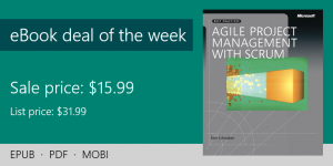 ebook deal of the week: Agile Project Management with Scrum