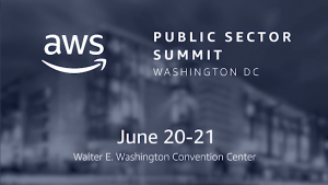 Announcing our 2018 Keynotes for the AWS Public Sector Summit in Washington, D.C.