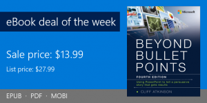 ebook deal of the week: Beyond Bullet Points, 4th Edition