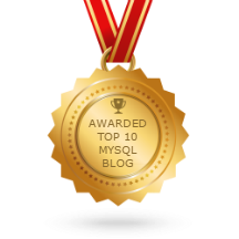 lefred.be in the Top 10 MySQL Blog