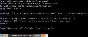 Configuring the MySQL Shell Prompt