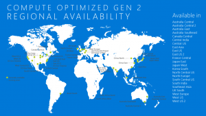 Azure SQL Data Warehouse Gen2 now generally available in France and Australia