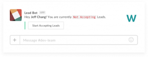 Assigning and Enriching Leads in Salesforce from Slack with Leadbot