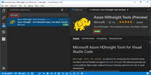 HDInsight Tools for VSCode: Integrations with Azure Account and HDInsight Explorer