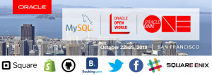 MySQL at Oracle Open World and Oracle Code ONE