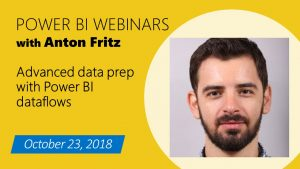 Webinar 10/23: Advanced data prep with Power BI dataflows for unified data and powerful insights