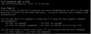 Let AI help you be more productive with Microsoft Azure CLI