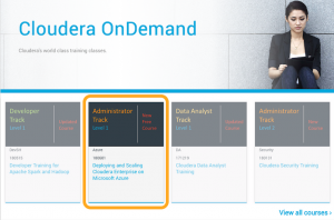 Learn for Free How to Deploy Cloudera Enterprise on Microsoft Azure