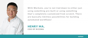Ricoma's Journey to Find an Intelligent Automation Platform