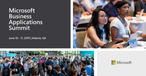 Microsoft Business Applications Summit is back – join us June 10-11, 2019 in Atlanta!