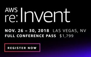 AWS Big Data and Analytics Sessions at Re:Invent 2018
