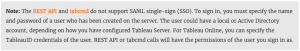 How to use TabCMD & the Tableau Server REST API when using SAML authentication