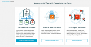 Getting started with AWS IoT Device Defender