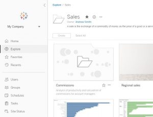 A new home page for Tableau Server and Tableau Online makes browsing personal (now in beta)