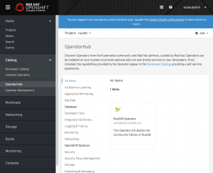 Simplify Your Database Deployment with NuoDB, OpenShift, and Operators (Corporate Blog)