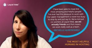 Meet a Helpful Human – Michelle Almendarez