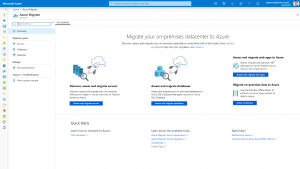 Introducing the new Azure Migrate: A hub for your migration needs