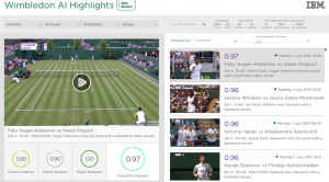 How AI picks the most exciting moments at Wimbledon without bias