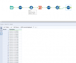 Simulating data in Alteryx – what to do when data points are consecutive
