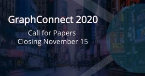 GraphConnect 2020: Call for Papers Closing November 15
