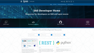 developer.sas.com 2.0: More than just a pretty interface