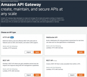 Announcing HTTP APIs for Amazon API Gateway