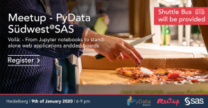 Meetup #5 - PyData Südwest and SAS together in January