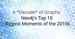 A *Decade* of Graphs: Neo4j's Top 10 Biggest Moments of the 2010s