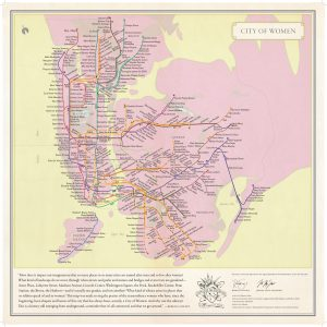 "Navigating New York with the ""City of Women"" Map"