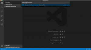 AWS Step Functions support in Visual Studio Code