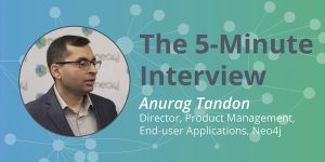 See Your Graphs in Bloom: The 5-Minute Interview with Anurag Tandon, Neo4j
